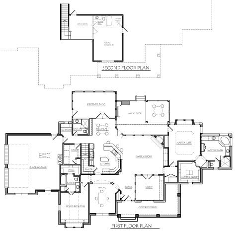 Texas ranch house plans houseplans monster house plans for Floor plans texas