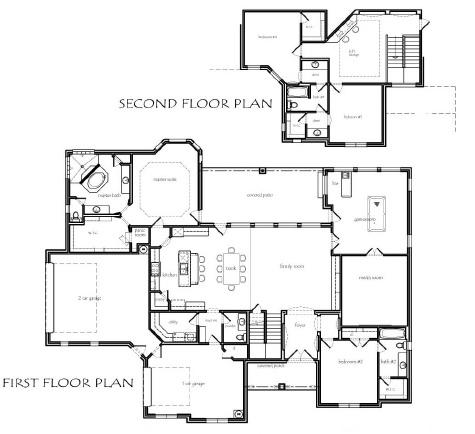 Texas house plans Texas ranch floor plans