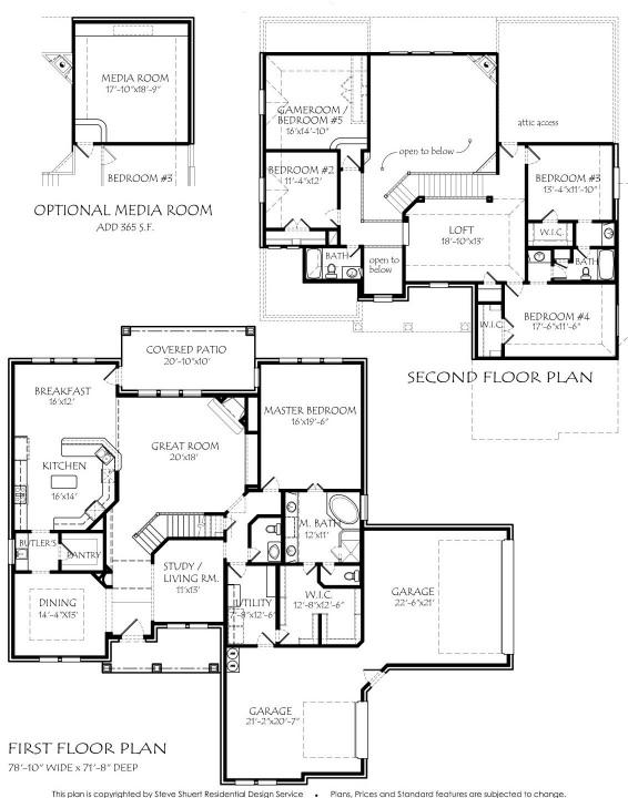 28 Texas House Plan U2974l Texas Texas House Plans