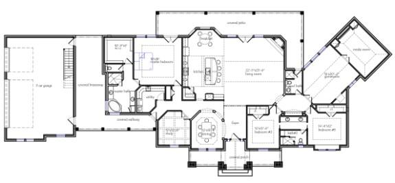 Texas house plans for Texas ranch house plans
